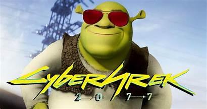 Cyberpunk Memes 2077 Funny Hilarious Words Shrek