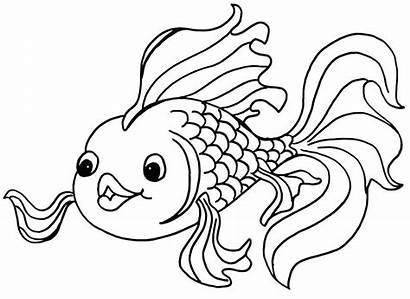 Fish Coloring Pages Tropical Printable Getcolorings