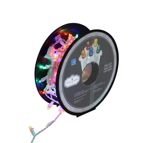 trim a home multicolor led icicle lights kmart