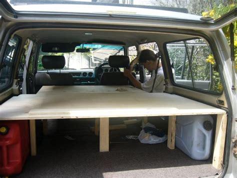 auto schlafen umbau ein auto zum wohnmobil umbauen