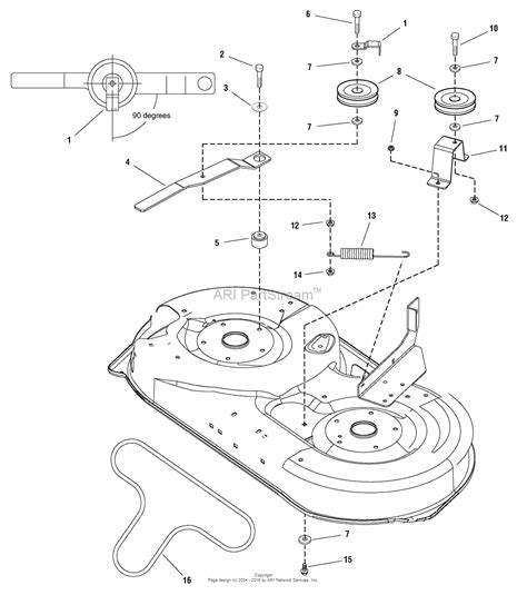 Snapper Rotary Mower Parts Diagram For