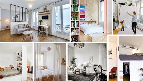 chambre salon coin chambre dans le salon 40 idées pour l 39 aménager une hirondelle dans les tiroirs