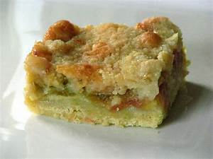 CakeWalk Rhubarb Kuchen Or In Which I Divulge Buttery