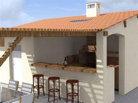 comment construire une cuisine beau comment construire une terrasse couverte 12