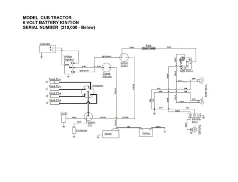 Ford 6 Volt Positive Ground Wiring Diagram by 6 Volt Positive Ground Wiring
