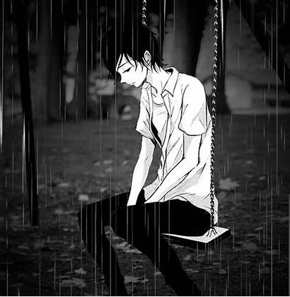 Lonely Sad Anime Boy Heart Hearts