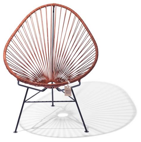 acapulco chair in leather the original acapulco