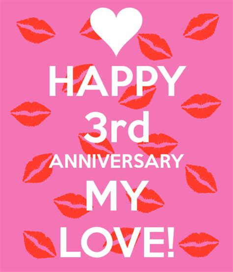 third wedding anniversary third wedding anniversary wishes greetings pictures wish guy