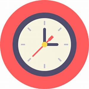 Clock Icon Flat - Icon Shop - Download free icons for ...