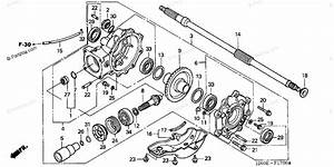 Honda Atv 2004 Oem Parts Diagram For Final Driven Gear