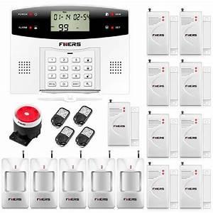 Alarme Maison Telesurveillance : fuers g2 alarme maison sans fil gsm pstn 5 capteur ir ~ Premium-room.com Idées de Décoration