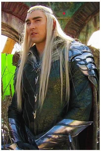 Thranduil Hobbit Behind Scenes Lee Pace Legolas