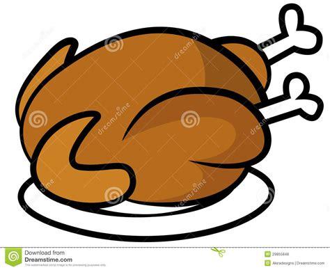 Chicken Dinner Clipart