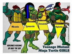 Teenage Mutant Ninja Turtles Girls Creating An
