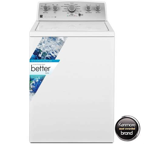 Kenmore 4.3 cu. ft. Top Load Washer w/ Exclusive Triple