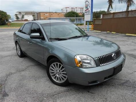 auto air conditioning service 2005 mercury montego electronic valve timing purchase used 2005 mercury montego premier awd in cocoa beach florida united states