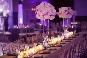 wedding table decorations ideas purple wedding decorations for look of wedding venue wedwebtalks