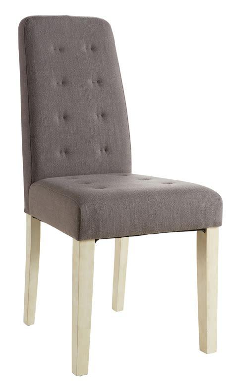 but chaise de salle a manger chaise de salle à manger contemporaine en tissu taupe lot
