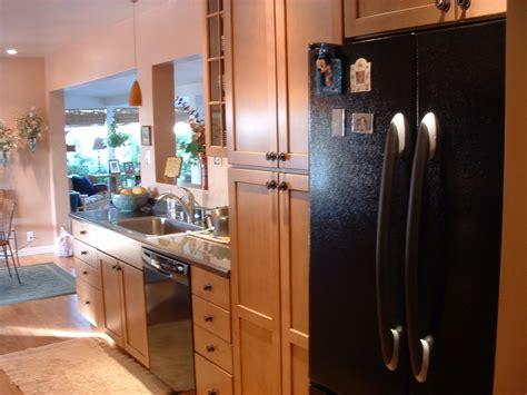 Galley Kitchen With Island Floor Plans Flatware