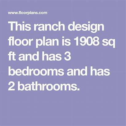 Plan Sq Ft Country Baths Beds Ranch
