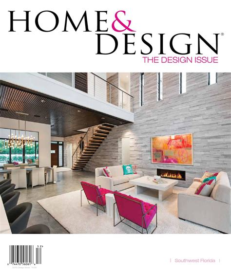 home design magazine design issue  southwest