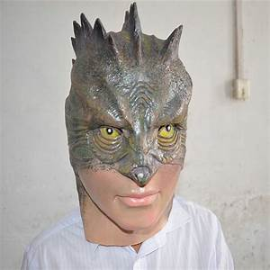 2018, New, Horror, Lizard, Mask, Scary, Macka, Monster, Latex, Masks, For, Adults, Halloween, All, Party, On