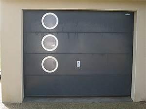 porte de garage boreal ouvertures le hezo vannes 56 With porte de garage enroulable avec porte interieur pvc