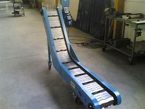 convoyeur a tapis metallique convoyeurs a bandes elevateurs With tapis elevateur a bande