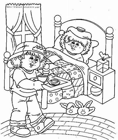 Cabbage Patch Coloring Pages Colouring Printable Sheets