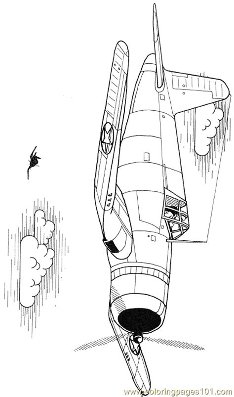 coloring corsair coloring page  air transport coloring pages coloringpagescom