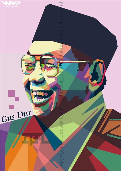 New Wpap Gusdur 73 best wedha s pop portrait images on pop