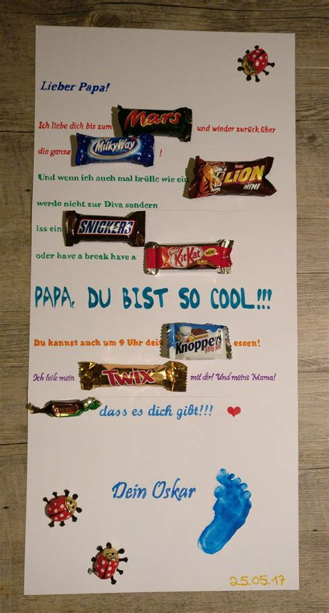 Vatertags Geschenk Ideen by Vatertag Mars Way Snickers Kit Knoppers