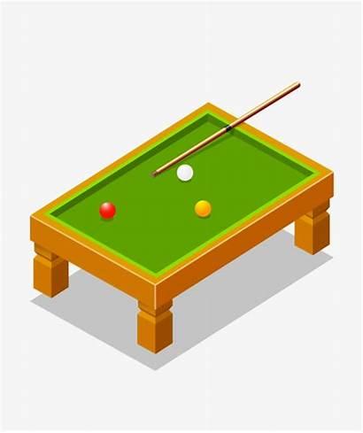 Cartoon Billiards Clipart Pool Table Transparent Webstockreview