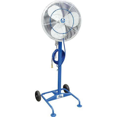 high pressure misting fan schaefer versafog high pressure misting satellite fan