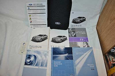 ford taurus owners book manual navigation dvd