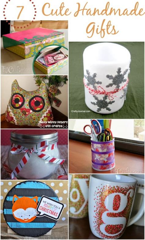 quick  easy handmade gift ideas  crafty blog stalker