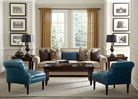 Transitional Living Room Furniture by Havertys Furniture Transitional Living Room Other