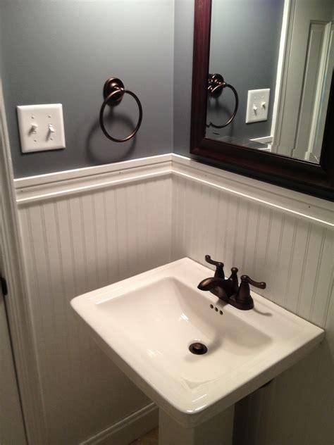 house and handyman a beadboard in the bathroom