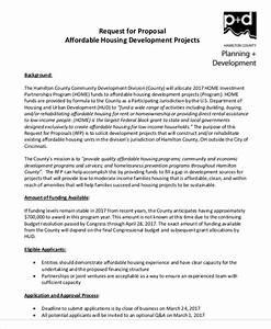 11  Development Project Proposal Templates