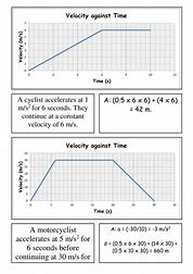 Velocity vs time graphs and displacement worksheet 4 answer key