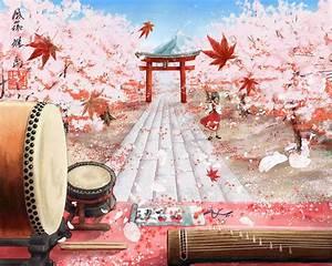 japanese cherry blossom anime MEMEs