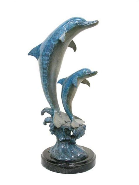 dolphin statues bronze 2 dolphin statue asb736 life size statues fiberglass statues bronze statues sale rent