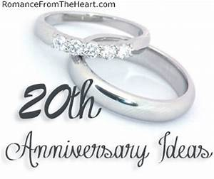 20th anniversary ideas romancefromtheheartcom With 20th wedding anniversary gift ideas for her