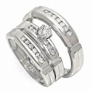 Wedding ring sets without center stone wedding ring sets for Wedding ring sets payment plans