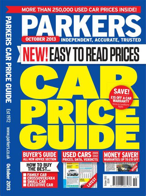 Parkers Price Guide | Parkers Valuation | Wizzle