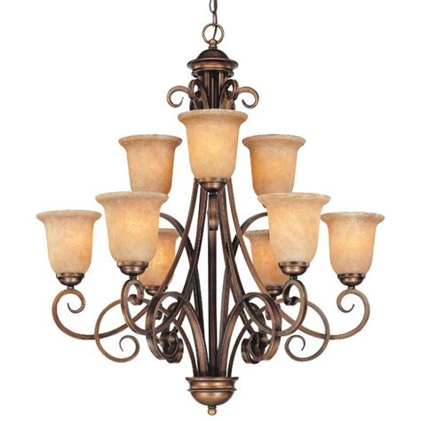 9 light chandelier nine light chandelier 2092 133 destination lighting