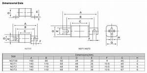 High Speed Fuses Low Voltage Square Body Ceramic Fuse Link