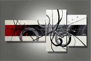 Tableau Plusieurs Panneaux : toile triptyque moderne ~ Teatrodelosmanantiales.com Idées de Décoration