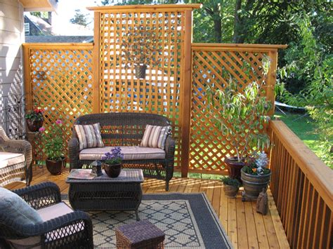 Backyard Privacy Screens Trellis by Lattice Privacy Ideas Deck Privacylattice Gif Trellis