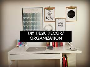 cute cheap and easy diy desk decor organization youtube